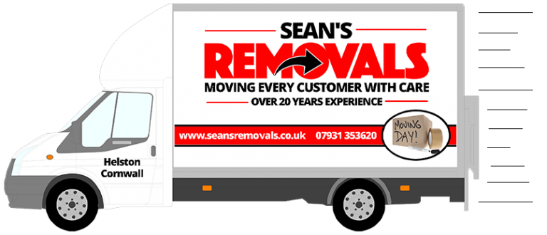 Sean's Removals - Van icon
