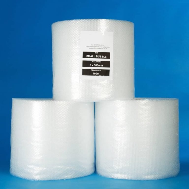 Bubble wrap is essential for protecting your fragile items whilst moving